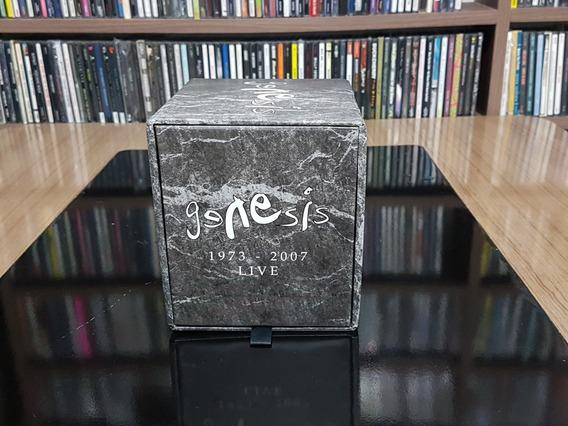 Box Genesis - 1973/2007 Live - 10cds+3dvds Raríssimo