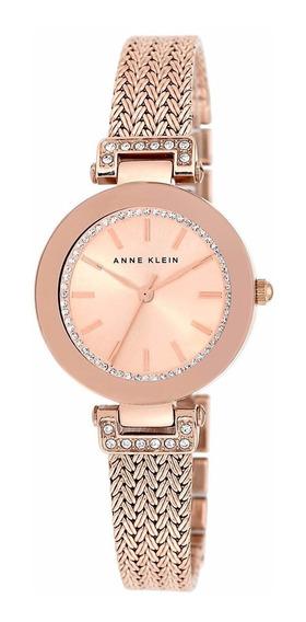 Relógio Anne Klein Ladies Ak/1906rgrg Rose Swarovski