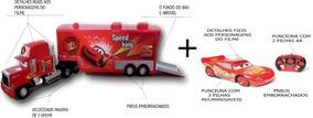 Carreta Mack Controle Remoto + Carro Macquen Controle Remot