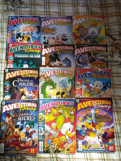 Coleção Aventuras Disney Abril Vários Números