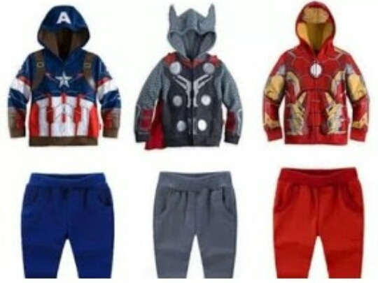 Hermoso Pants Super Heroes , Goku, Thor, Spiderman