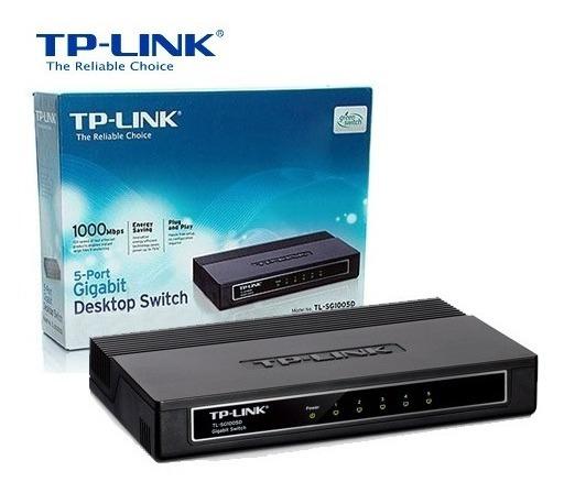 Switch De 8 Puertos Gigabit Tp Link Tl-sg1008d Itec