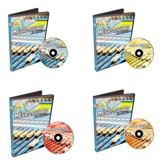 Coleção Curso Mesa Digital 4 Dvds-x32-01v96-edon - Original