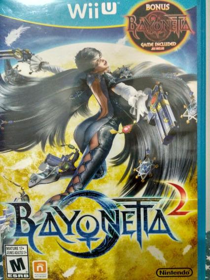 Bayonetta 1 E 2 - Wii U Americano Original (raro)