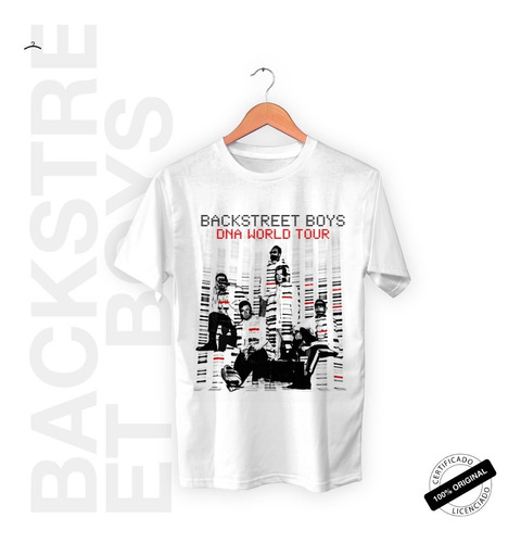Camiseta Oficial Backstreet Boys Dna World Tour 2020 +brinde