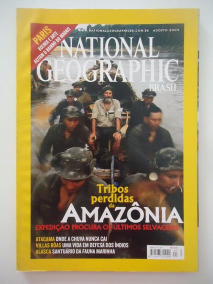 National Geographic Brasil Ago 2003 Perfeito! Frete Grátis.