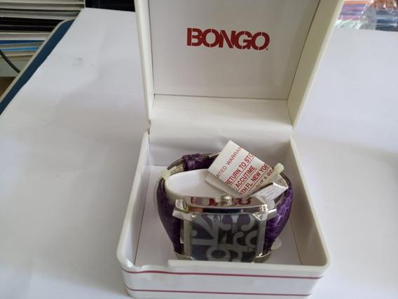 Relogio Bongo Bg6269a Original Violeta