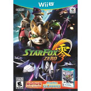 Star Fox Zero Wiiu + Star Fox Guard Envio Gratis