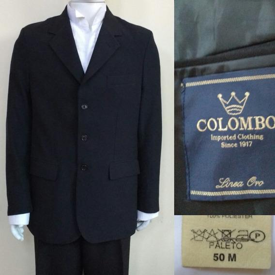 Blazer Preto Colombo Linea Oro Tamanho M50 55x79