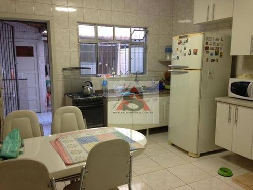 Sobrado Com 2 Dormitórios À Venda, 94 M² Por R$ 585.000,00 - Vila Firmiano Pinto - São Paulo/sp - So4094