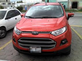 Ford Ecosport 2.0 Trend 2016 Automatica*enganche De $ 49,600