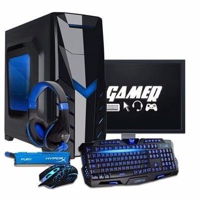Pc Gamer I5-7400, 8gb Ddr4, Gtx 1050 Ti, Promoção