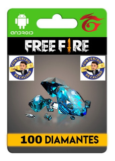 100 Diamantes Free Fire + Bonus.