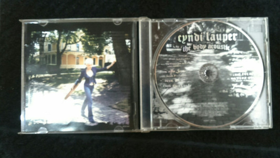 Cyndi Lauper Cd The Body Acoustic..seminovo Otimo Cd
