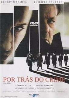 Dvd Filme - Frédéric Schoendoerffer - Por Trás Do Crime
