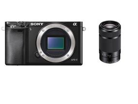 Câmera Sony A6000 + E 55-210mm F/4.5-6.3 Oss - Loja Platinum