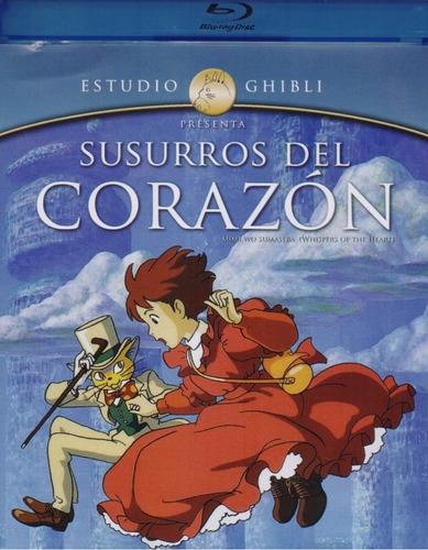 Susurros Del Corazon Estudio Ghibli Pelicula Blu-ray