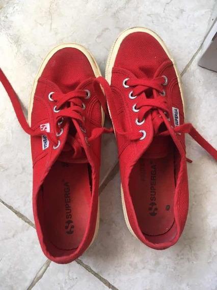 Tenis Rojos Superga