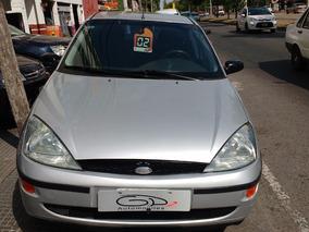 Ford Focus Edge 2.0 Ll 2002 Gris Plata