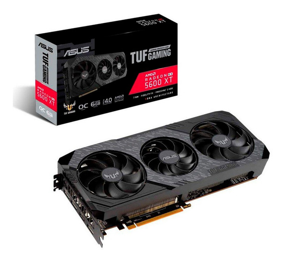 Placa Video Amd Asus Rx 5600 Xt 6gb Tuf 3 Evo Gaming