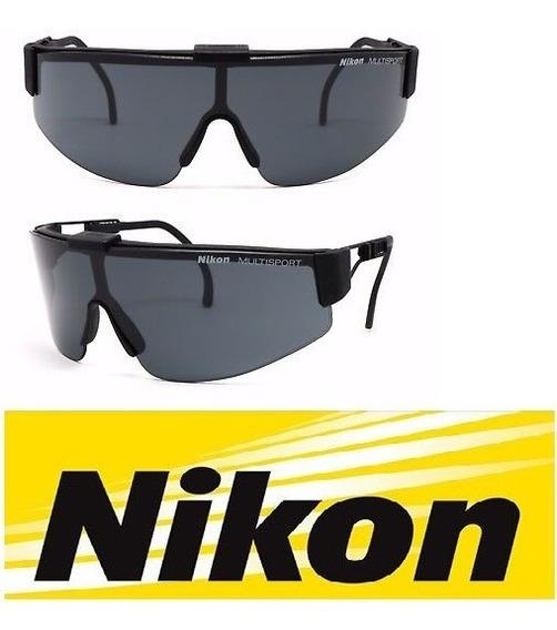 Óculos De Sol Nikon Multi Sport - Raridade - Único No Ml