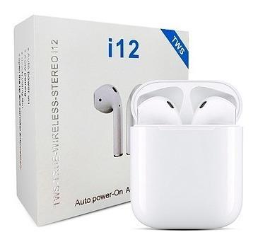 Audífonos Inalámbricos I12 Tws AirPods Bluetooth (15vrds)