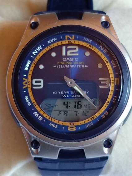 Relógio Casio Fishing Gear