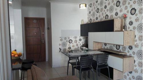 Imagem 1 de 9 de Apartamento Com 2 Dormitórios À Venda, 75 M² Por R$ 270.000,00 - Praia Campista - Macaé/rj - Ap0057