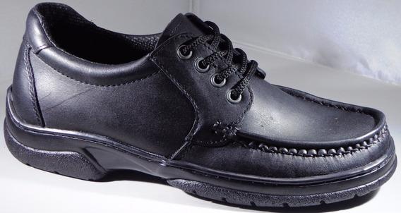 Zapatos Prince Cuero Legitimo Mod 521 Confort