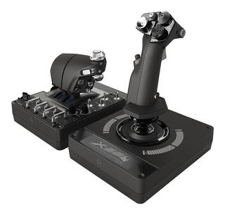 Simulador De Vuelo Control X56 Hotas Rgb Logitech G