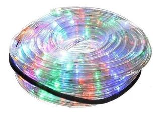 Manguera 10 M Luz Led Varios Colores Rgb Y 8 Efectos Tira