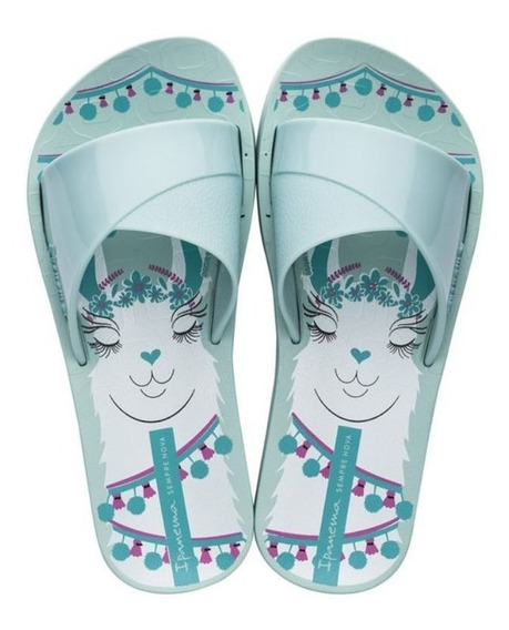 Chinelo Infantil Slide Lol Surprise Azul Ipanema C C+