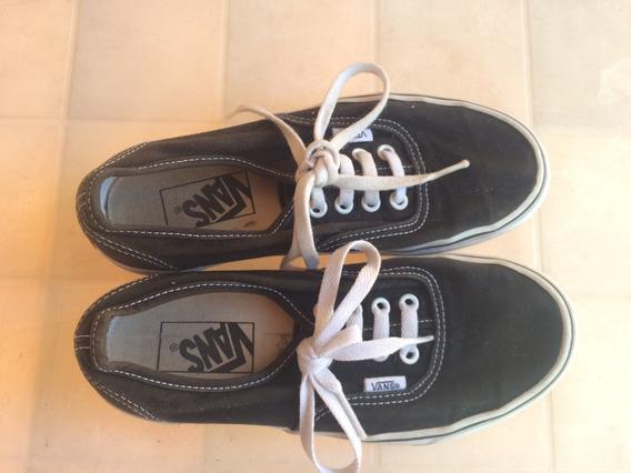 Zapatillas Vans Modelo Era Negro Talle 35