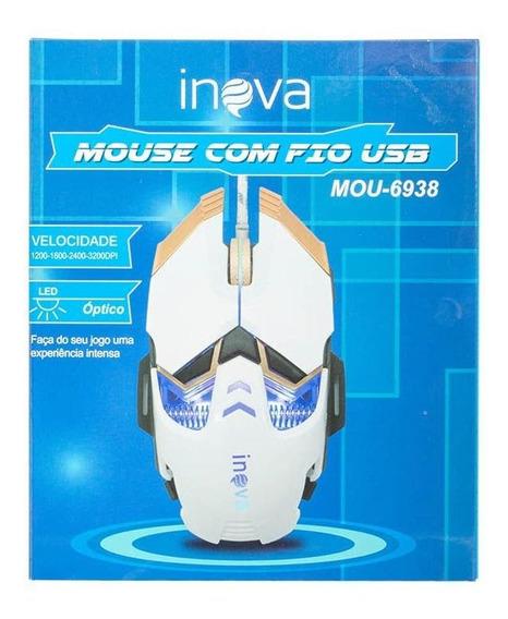 Mouse Óptico Led Para Jogos