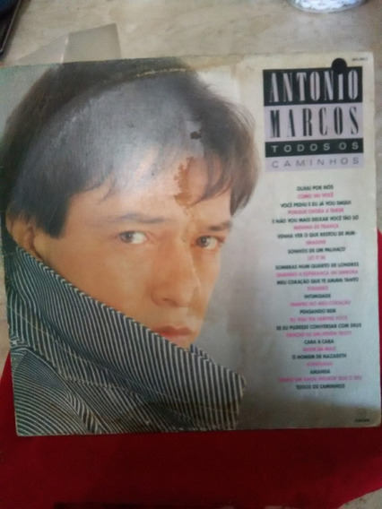 Lp - Antonio Marcos - Todos Os Caminhos - 1988 - Som Livre