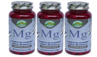 Cloreto De Magnésio 1200mg 3x 60 Comprimidos Máximo 2 Ao Dia