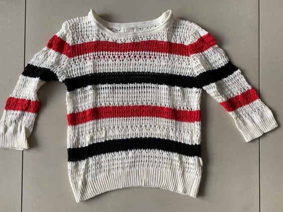 Sweter Calado De Nena For Ever 21 Talle 6/7 Importado De Usa