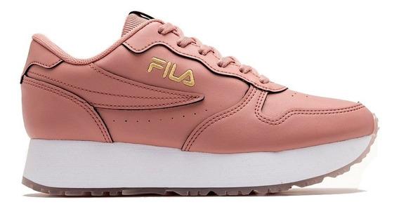 Zapatillas Fila Euro Jogger Wedge Sl De Mujer Ros/dor