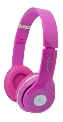 Fone Headphone Mox Mo-f899 Bluetooth/tf Card -rosa