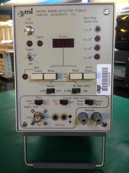 Marconi Tf 2801/4 Digital Error Detector ( Ber ) - Raridade