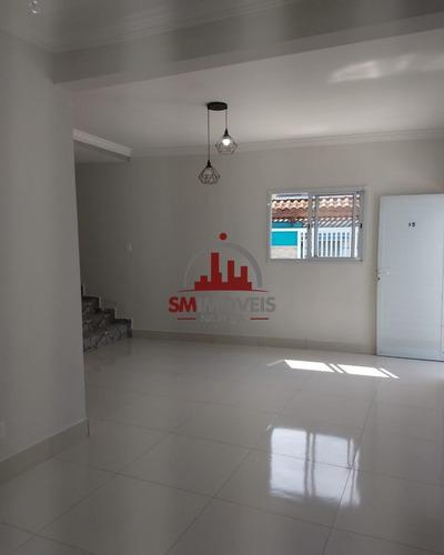 Imagem 1 de 22 de Casa De Condominio Com 03 Dormitórios No Tude Bastos Praia Grande - Ca00333 - 69948430