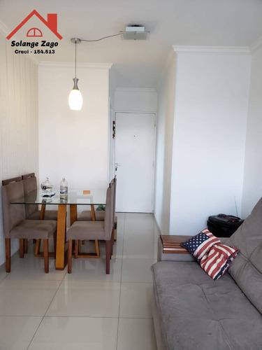 Imagem 1 de 15 de Excelente Apartamento No Jardim Germânia - 51m² - 1846