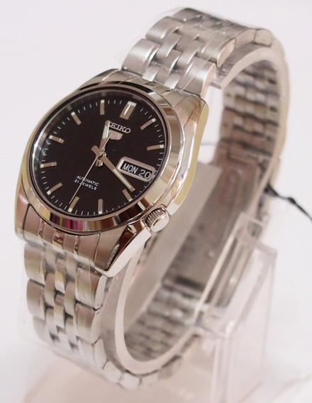 Relógio Pulso Seiko 5 Automático Pulseira Aço Mod. Snk361-k1