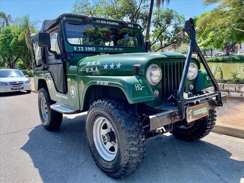 Willys Jeep Jeep Willys 2.6 6 Cilindros Gasolina