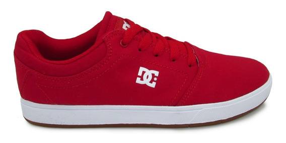 Tenis Dc Shoes Crisi Tx Adys100066 Xrwr Red White Rojo