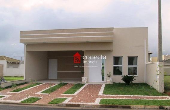 Casa Residencial À Venda, Condomínio Terras Do Fontanário, Paulínia - Ca0717. - Ca0717