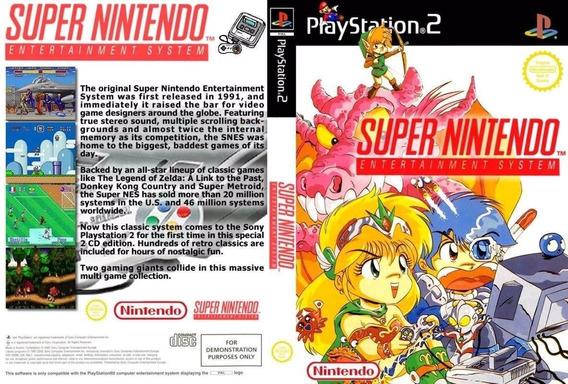 Emulador Super Nintendo Com 786 Jogos Para Play Station 2