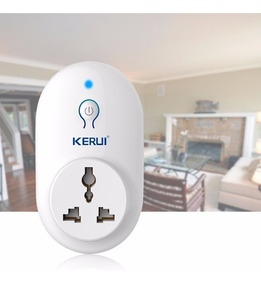 Tomada Inteligente Kerui S71 Para Centrais De Alarme Kerui.