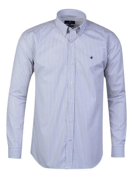 Camisa Hombre Algodón Poplin Sport Regular Fit Brooksfield
