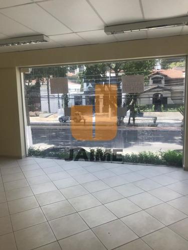 Casa Comercia Na Av. Pacaembu Para Locação - Bi4152